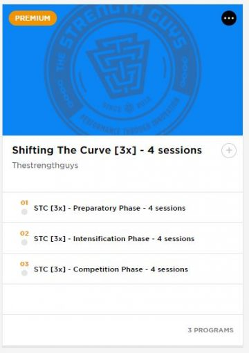 """Shifting The Curve"""" Training Cycles Now Launched by The"""